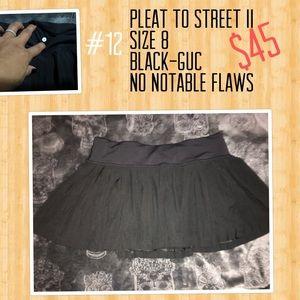 Pleat to street II skirt